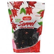 Caribbean Dreams  Jamaican Dried Sorrel ( PACK OF 3)
